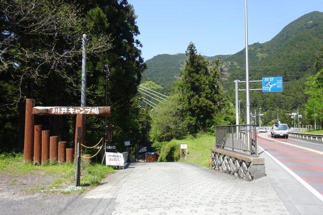 川井 キャンプ 場 天気